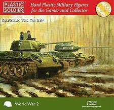 Plastic Soldier - PSC WW2 V20001-7204 WWII Russian T34 76/85 Tank (3)