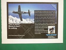 6/2003 PUB AVION PILATUS PC-21 TRAINER SWISS AIRCRAFT FLUGZEUG ORIGINAL ADVERT