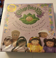 Cabbage Patch Kids Happy Family Board Game Unused 2005