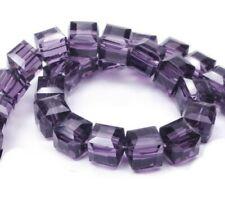 25 Glasperlen Würfel 4mm Fire Opal Tschechische Kristall Perlen Schmuck X220