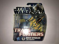 Star Wars Transformers Crossovers Anakin Skywalker to Jedi Starfighter New