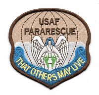 USAF PARARESCUE JUMPER MILITARY PATCH THAT OTHERS MAY LIVE - AIR FORCE - Ver 2