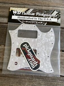 Custom Pickguard For Gibson 2008 SG Classic White Pearl 3 Ply
