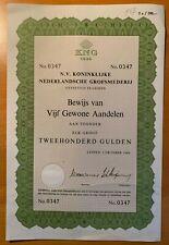 Koninklijke Nederlandsche Grofsmederij - KNG - Leiden