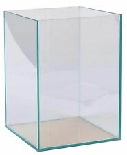 Aquarium 30x30x40cm Würfel Quadrat Cube Becken Glasbecken transparent verklebt
