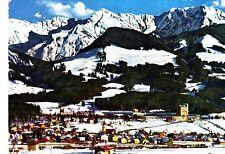 Wintersportplatz Sonthofen , Ansichtskarte, 1967 gelaufen