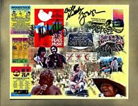 Woodstock 50th Overview 8x10 FDC's Glossy Paper on Painted Background Cancelled
