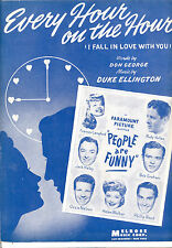 """PEOPLE ARE FUNNY """"Every Hour On The Hour"""" Frances Langford Ozzie Nelson"""