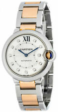 Cartier Ballon Bleu Silver Unisex Adult Watch - WE902031