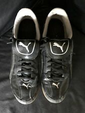 New Puma Mens Black 12 Lace Up Sneakers Shoes