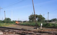 Railroad Locomotive Train DOLTON IL Original Illinois 2008 Photo Slide