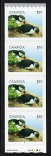 2014 Canada SC# 2713 Baby Wildlife Atlantic Puffin start strip of 4 LotC608 M-NH