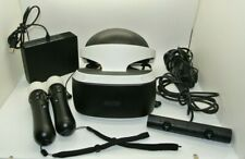 Sony PlayStation VR Headset Bundle 2 Motion Controllers Camera