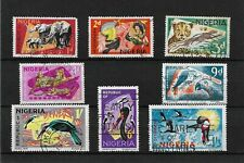 Nigeria, 1969 Wildlife, second printing, used selection to 1/3d (7667)