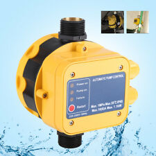 IP65 Automatic Water Pump Pressure Switch Electric Controller with Gauge 1.1W HG