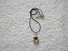Ex-Display Beige Cristal Facetado Collar de oso de peluche Z
