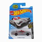 Hot Wheels Batman TV Series Batmobile Grey Diecast Car 118/250 - Long Card - New