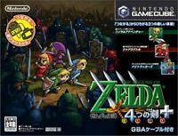 USED Nintendo Gamecube The Legend of Zelda: Four Swords +