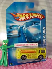 2008 Hot Wheels FIRE-EATER Engine truck #48/196 ∞yellow; 5sp∞ALL STARS