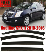 For Cadillac SRX II 2010-2016 Window Smoke Visor Rain Sun Guard Deflectors