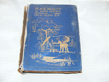 Black  Beauty  1931  Edition   Hardback   Book   Illustrated   By  Cecil  Aldin