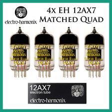 New 4x Electro Harmonix 12AX7 / ECC83 | Matched Quad / Quartet / Four Tubes | EH