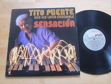 Tito Puente and His Latin Ensemble - Sensacion LP Picante Latin Jazz Ultrasonic