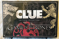 Clue : Game of Thrones Edition ~ Classic Mystery Board Game ~ Complete!