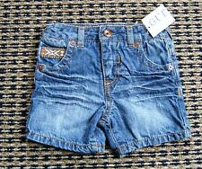 GUESS BABY BOYS DENIM SHORTS SZ 0 - 3 MONTHS NEW WITH TAGS