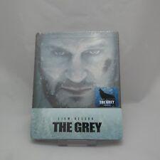 The Grey (2018, Blu-ray) 1/4 Quarter Slip Case Steelbook Limited Edition / NOVA