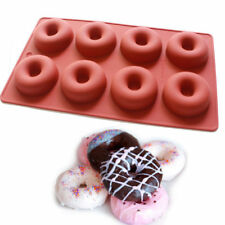NEW  DONUT  8 CAVITY SILICONE MOULD (1)