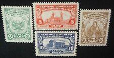 1930 Peru; Serie panamerikanischer Kongress Kind, *MH, MiNr 235/38, ME 35,-