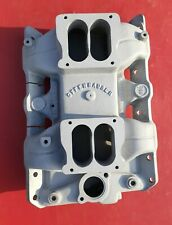 Offenhauser 5499 Dual Quad Intake Manifold Pontiac 350 389 400 428 455 Pontiac