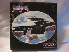 The Schimmel Arctic Dreams 700 Piece Puzzle Of Seals From Milton Bradley   gm213