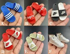 1/6 scale Slippers / Sneakers Shoes for 12'' Male Action Figure Doll Accessories