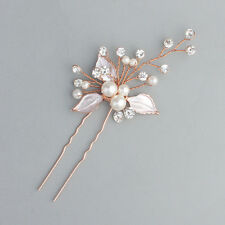 Wedding Bridal Clips Crystal Hair Comb Pins Bridesmaid Hair Accessories Jewelry