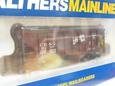 Walthers H0 910-7403 Mainl. 36`2-bay Ribbed Side Hopper CH&Q 191307 OVP (Q4705)
