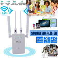 WiFi Range Extender Internet Booster Network Router Wireless Signal Repeater kit