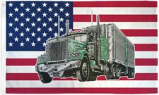 """New listing """"Usa Truck"""" 3x5 ft flag polyester"""