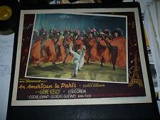 AN AMERICAN IN PARIS, orig 1951 LC #7 (Gene Kelly dances with Folies Bergere)