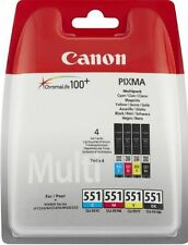 Original Canon CLI-551 C/ M/Y/BK Cartuchos de impresora,PIXMA iP7250/8750,iX6850