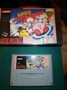 Kirby's Dream Course - SNES Super Nintendo - 100% Genuine Kirbys, no book