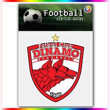 "FC Dinamo Bucuresti UEFA Die Cut Vinyl Sticker Car Bumper Window 4""x3.5"""