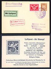 Flugpost für Sammler aus dem deutschen Reich