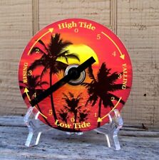 Tide Clock - Atlantic Coast High & Low Tidal Time - Palm Trees 1 - CD - Unique