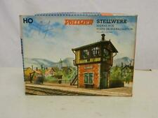 Vollmer HO Gauge Plastic Model Kit Signal Box Box 5731