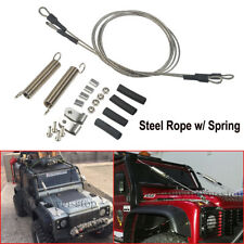 1Set Steel Rope w/ Spring for TRX-4 Landrover SCX10 D90 D110 1/10 RC Crawler