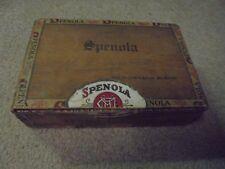 Vintage Wooden Spenola Cigar Box