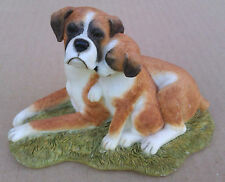 SHERRATT & SIMPSON - BOXER DOG MOTHER & PUP