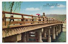 JAPAN = RP, Sanjo-Bridge, Kyoto. c.1960. Unused.